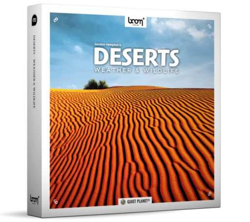 Deserts Weather And Wildlife SFX